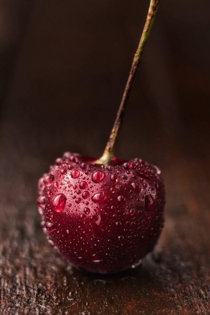 cherry, fruit, self-picked